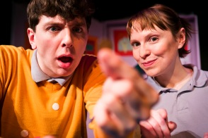 Laurie Brown and Rosalind Sydney as Barnaby and Jade, April 2014.